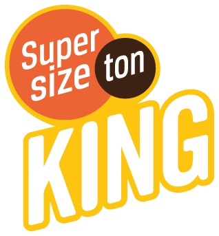 King supersize logo groot fr