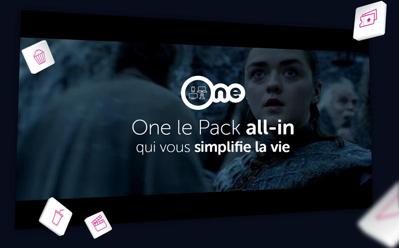 Pack voo one prix