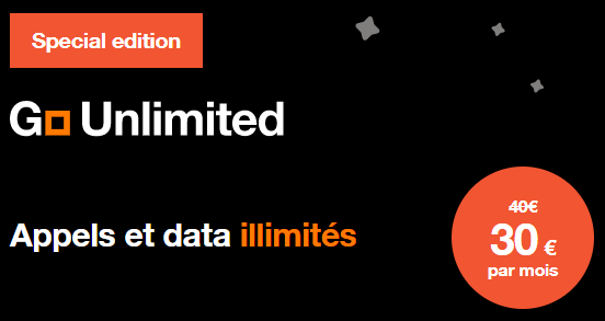 Promotion orange gsm data illimite fin annee 2020