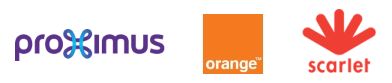 Proximus orange scarlet