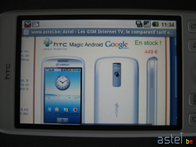 HTC Magic Android Google Phone