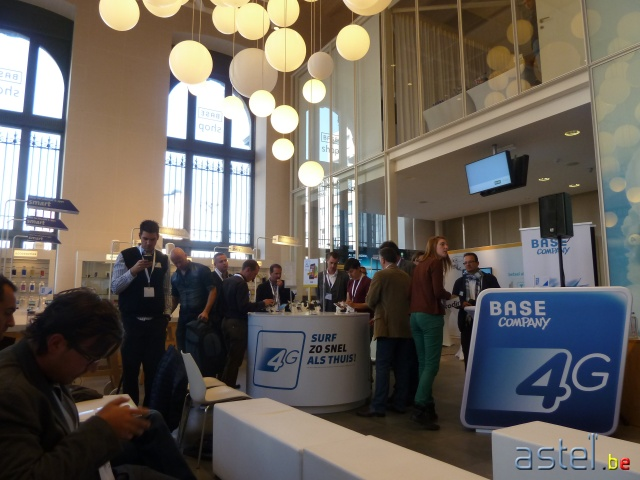 BASE Company lance la 4G