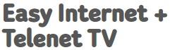 Easy Internet 100 Mbps + decoder TV iconic