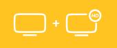 All-Internet onbeperkt + TV (snelheid 300 Mbps)